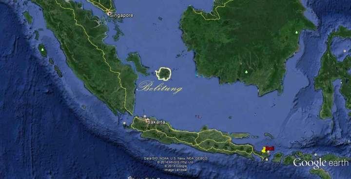 Ile de Belitung Indonésie