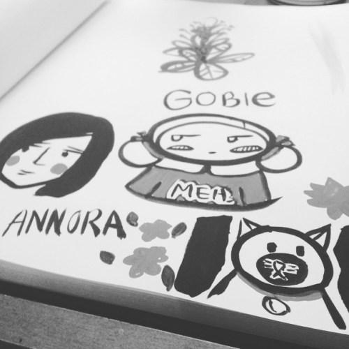 Gobie Gou sketch