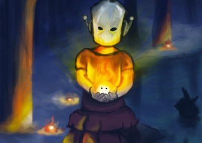 Calcifer et l'Enfant