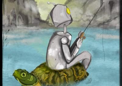 Robot pêcheur