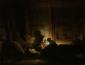 Sitio Oficial La Courona Mexicana Arte - Oleo Sobre Lienzo -Rembrandt -pintado renaissance 1642-1648 La Sagrada Familia el renacimiento de Jesucristo