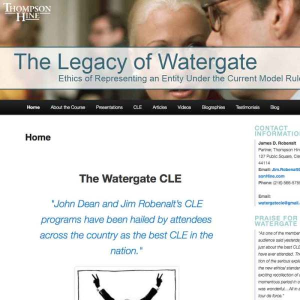 waterate cle web site