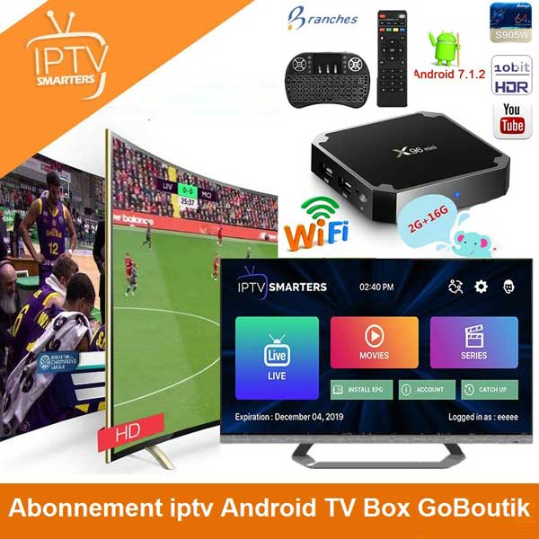 abonnement iptv android tv box