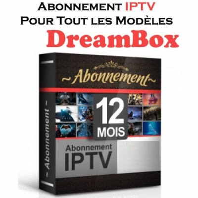 abonnement iptv dreambox 12 mois