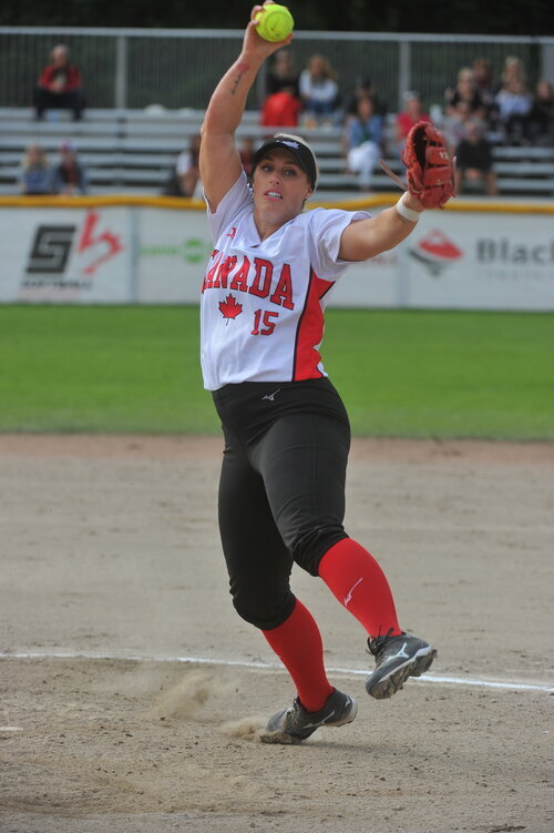 Photo courtesy of Softball Canada.