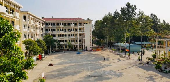 A quarantine location in Vietnam.