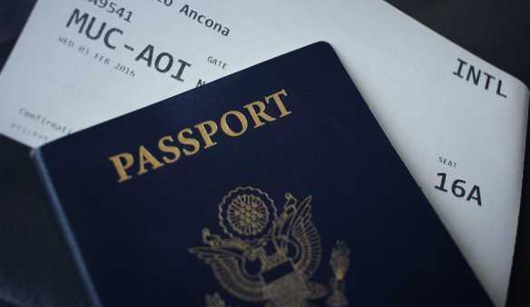 A passport.