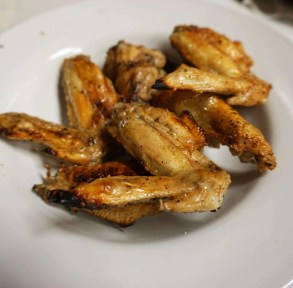 Chicken wings from Downtown City Tavern