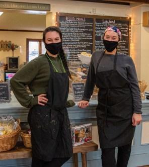 Owners Christina Hanchett and Nicoe Laubenheimer from Jucin' Jar