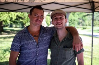 Co-founder Kevin Miner and his friend Matt