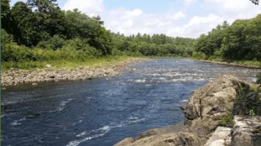 Thirteenth Lake in the Siamese Ponds Wilderness