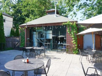 Patio at Mad Jack Brewing Co.