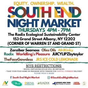 South End Night Market advertising