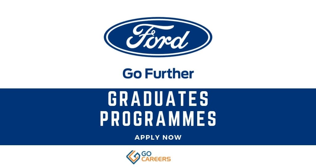 Ford South Africa Graduate Trainee Programme 2020 Gocareers