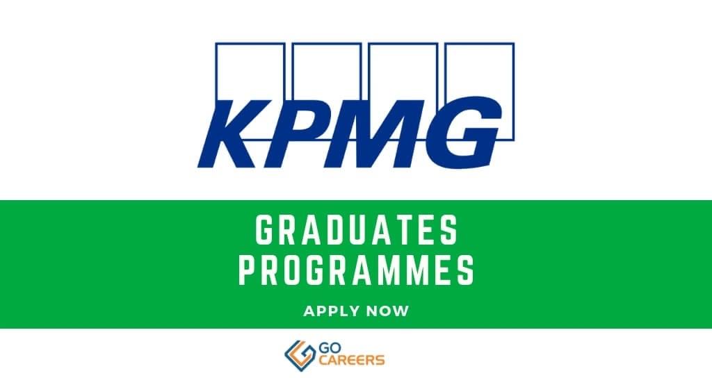 KPMG Graduate Programmes 2019 South Africa – GoCareers