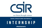 CSIR Nano Structured Materials Internship Programme