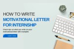 How to Write Motivational Letter for Internship