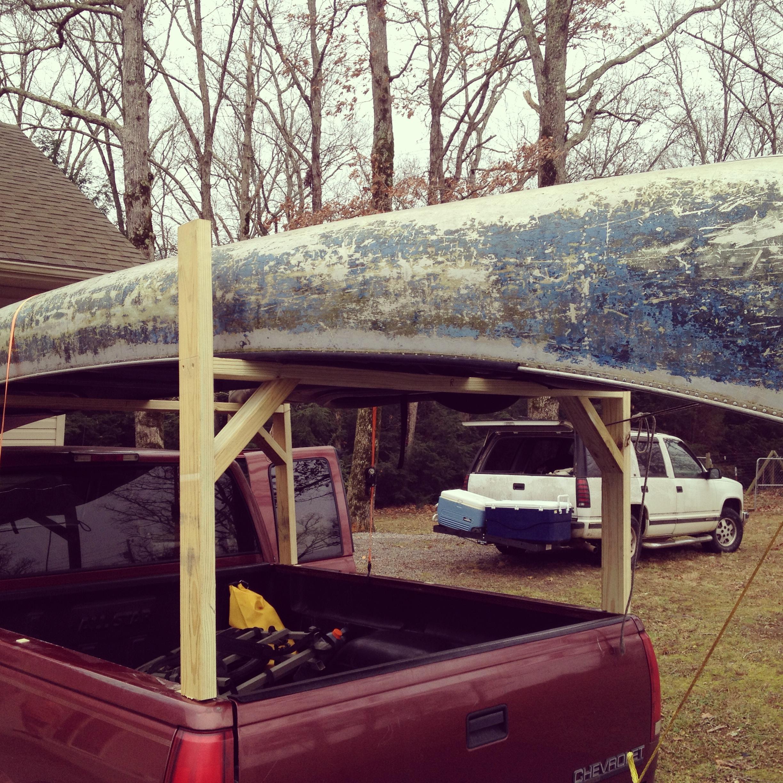 Homemade Canoe Racks Pickup Trucks