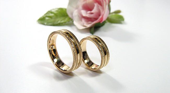 18金・結婚指輪・オーダーメイド