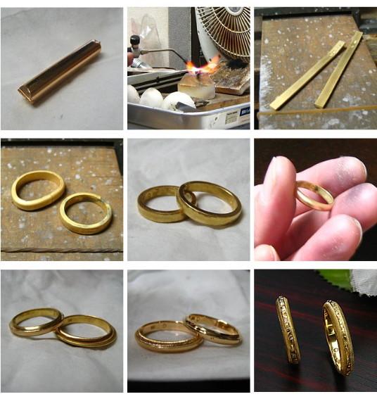 結婚指輪オーダー・アンティーク