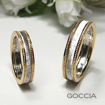 2色のコンビ・結婚指輪