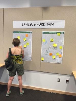 Public Input at Kickoff Meeting held June 30th at Chapel Hill Library