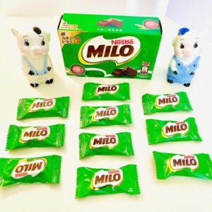 ミロボックスの中には10個のチョコ
