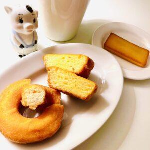 糖質50%オフのバターケーキを実食