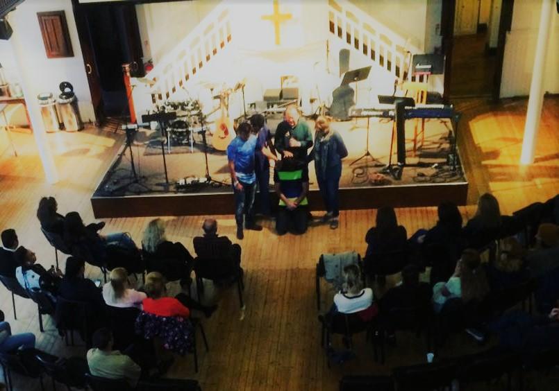 Internship  Upper Room Church Glasgow Scotland