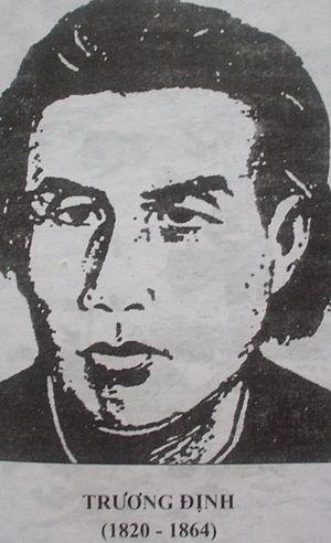 300px Trương Định 1 Cuộc khởi nghĩa của Trương Định (1862   1864)