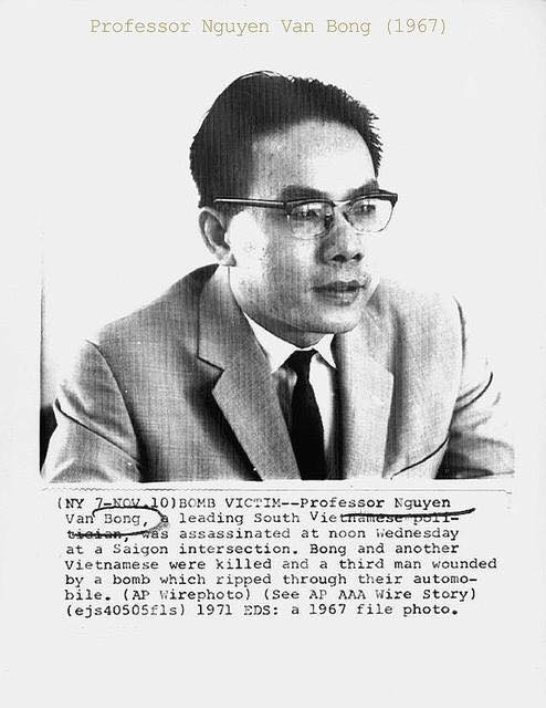 yt66l41 Giáo Sư Nguyễn Văn Bông – người tài đoản mệnh