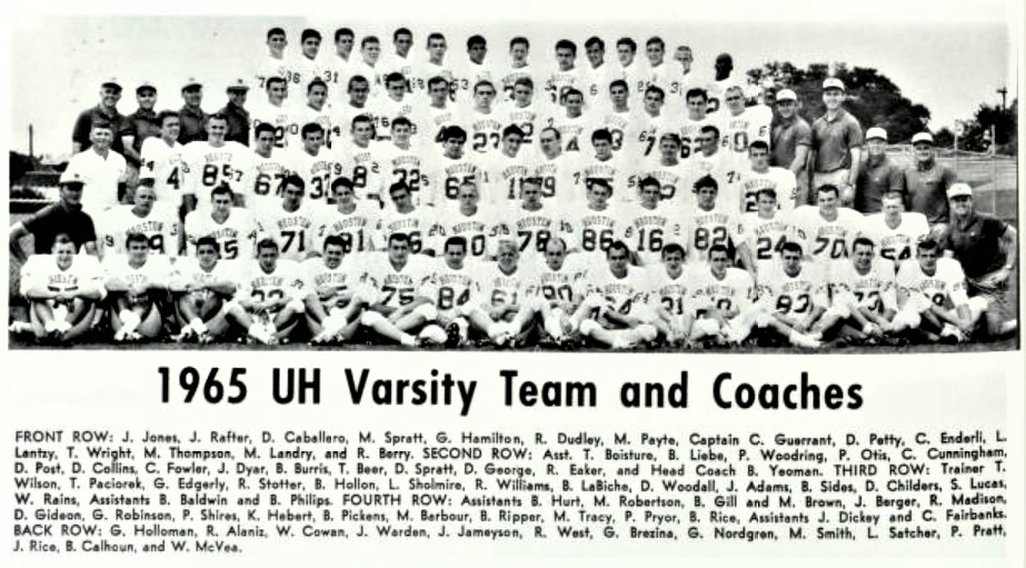 1965 football squad