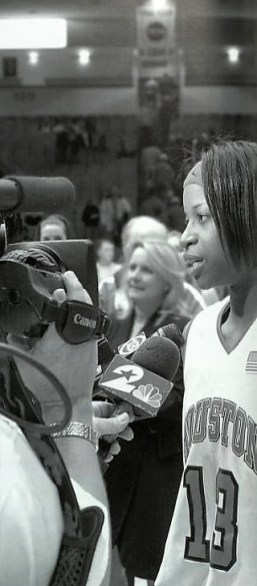 So effortless with the media