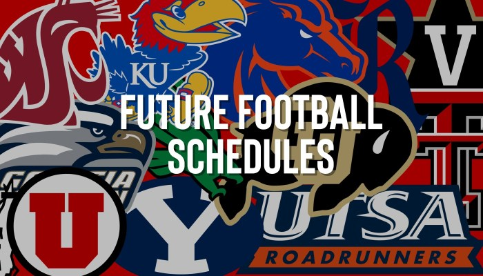 Houston Cougar Future Football Schedules