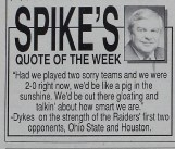 Spike's Quote of the Week