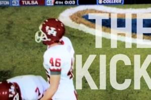 The Kick: Matt Hogan from 51 yards out