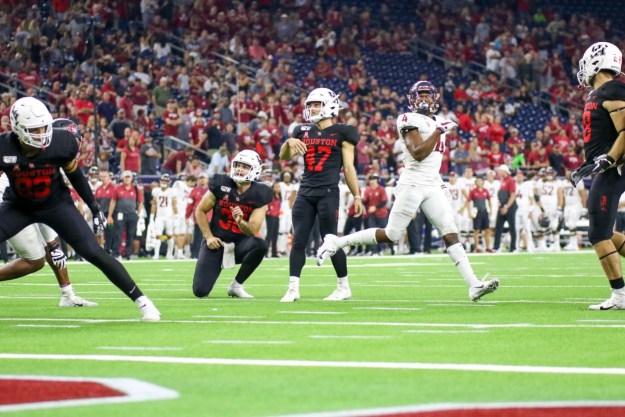 Houston Cougar kicker Dalton Witherspoon