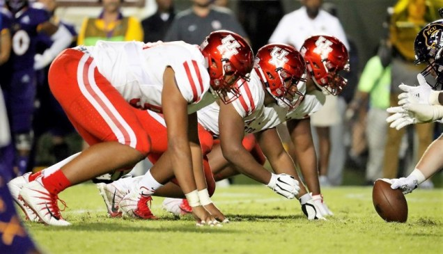 Houston Cougar defense vs ECU