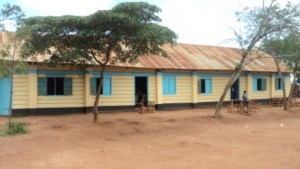 Masewani repaired and new paint at school COM