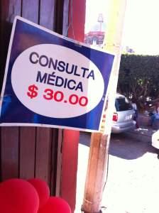Doctor consultation, $2.50
