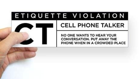 cell_phone_talker_bumper_sticker