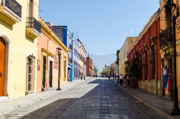 A Quiet Pedestrian Street