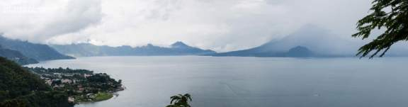 View Over Lake Atitlan and Panajachel