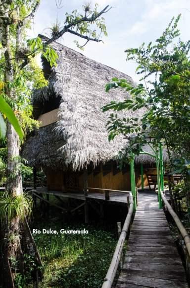 Our River Hut at El Tortugal