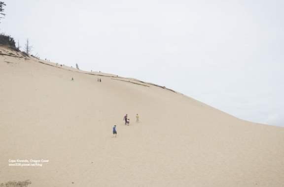Climbing the Sand Dune