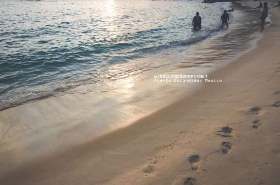 An Evening Stroll on the Beach