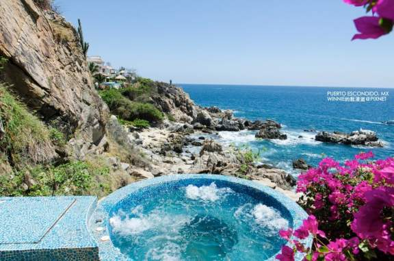 Hot Tub in the Cliffside