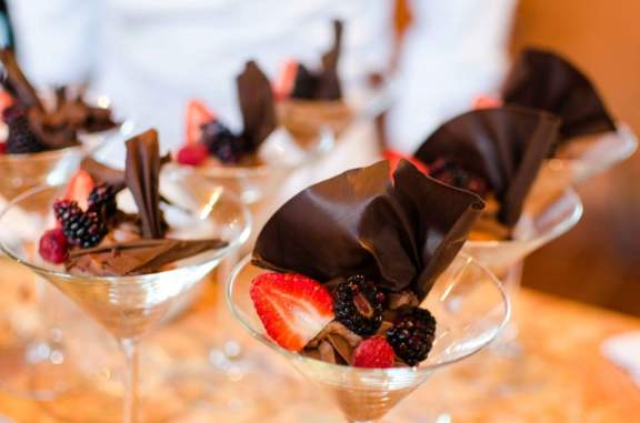 Chocolate Mousse Martinis