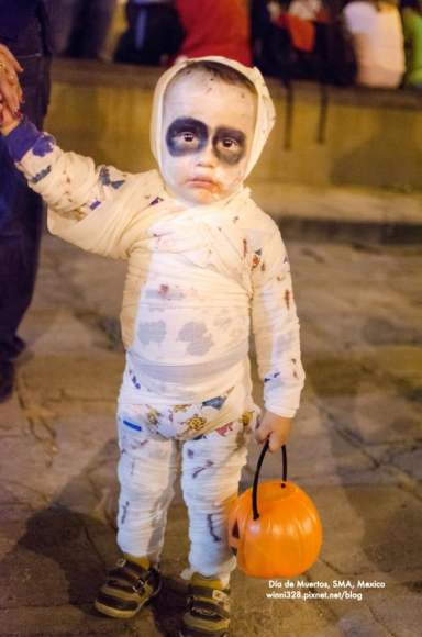 Some Kids Get Really Wrapped Up In Their Costumes