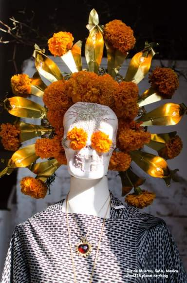 Skull of Marigolds
